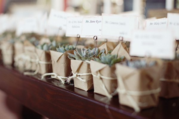 Detalles invitados bodas naturales en Segovia