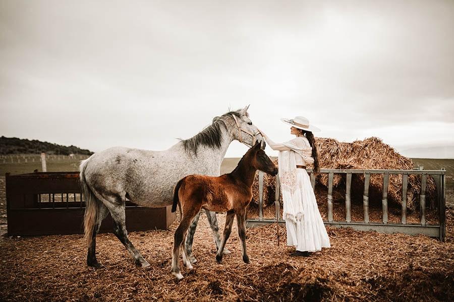 Heaven White por Laura Escribano
